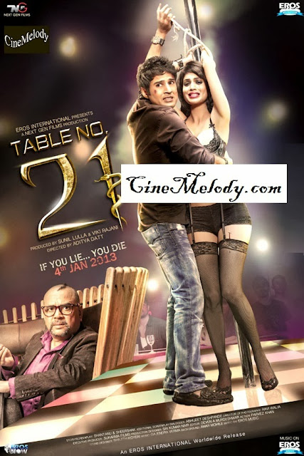 Table No. 21  Hindi Mp3 Songs Free  Download  2013