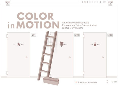 color in motion, the symbolism of colour,