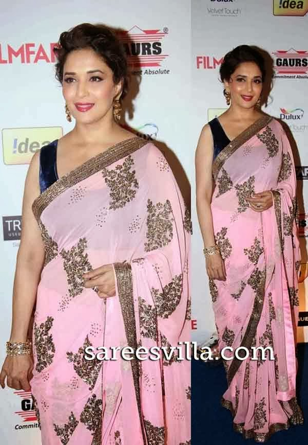 Madhuri Dixti At Filmfare Awards 2014 Nomination Bash