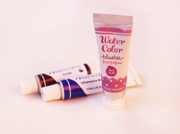 etude house water color blusher review