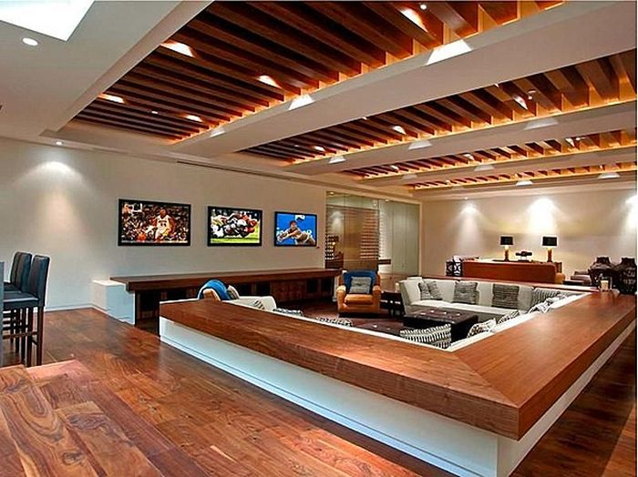 Awesome man caves 20 pics pixfunpix for Cheap man cave