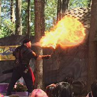 Torture Side Show Fire Breathing King Richards Faire Carver MA_New England Fall Events
