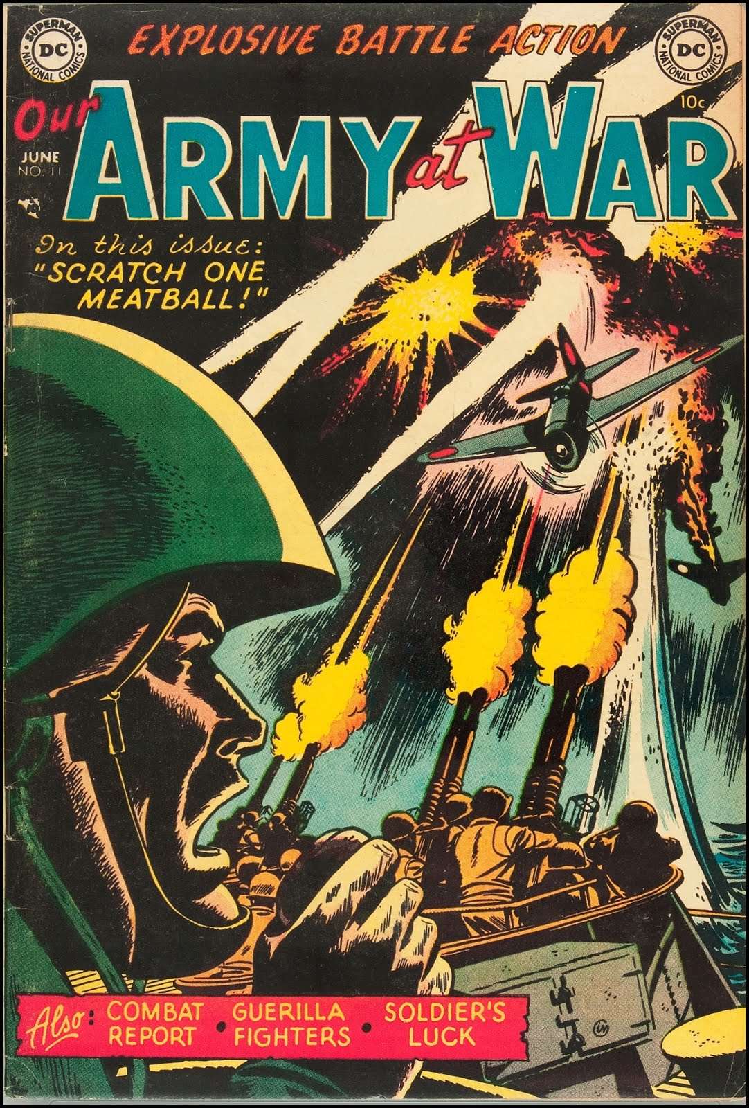 Comic Book Cover Art : Fantasy ink our army at war early covers