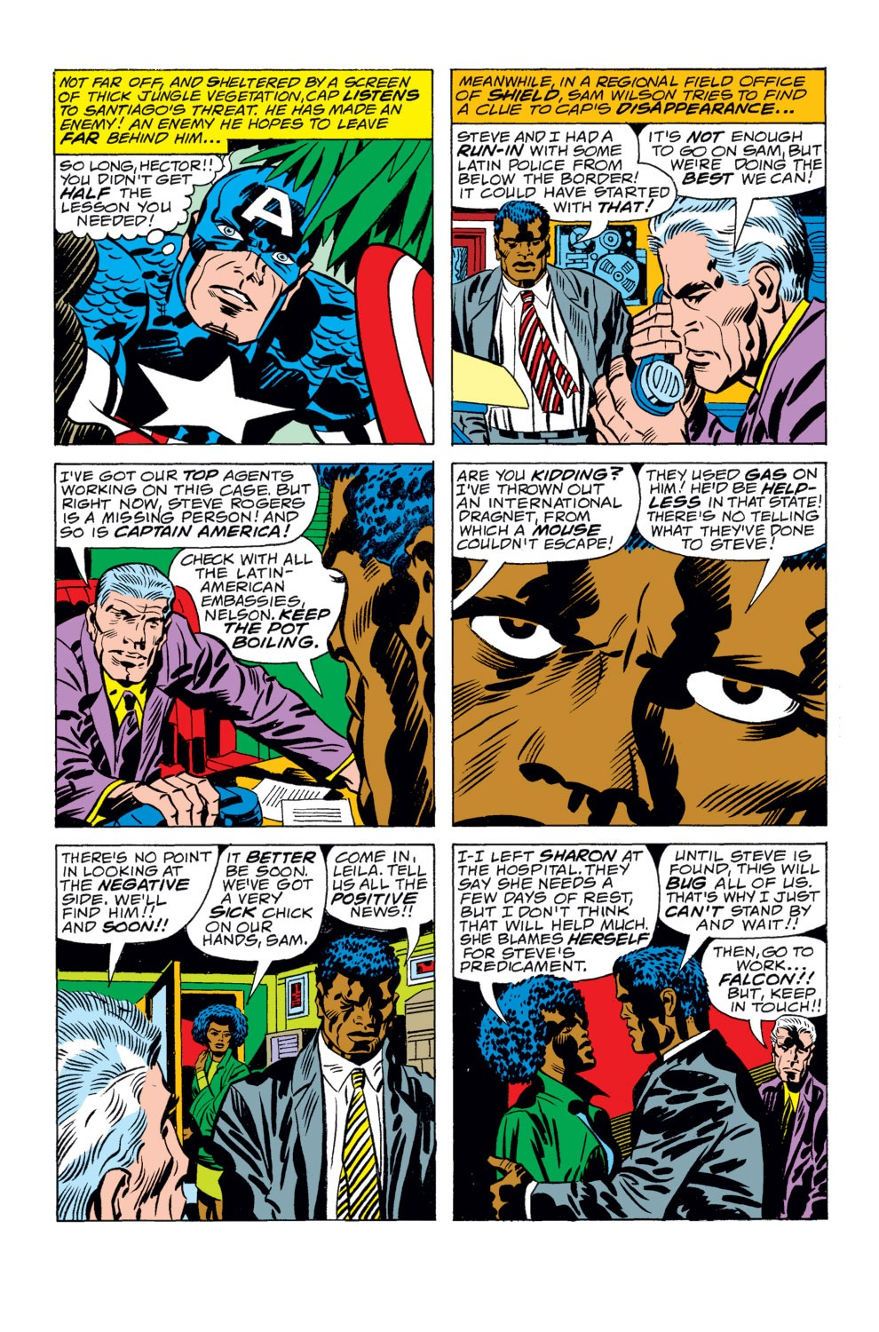 Captain America (1968) Issue #207 #121 - English 11