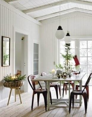 Una casa danesa vestida para navidad a danish house for Decoracion danesa