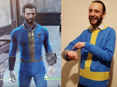 Vault Boy Fallout 4 Jumper pip boy