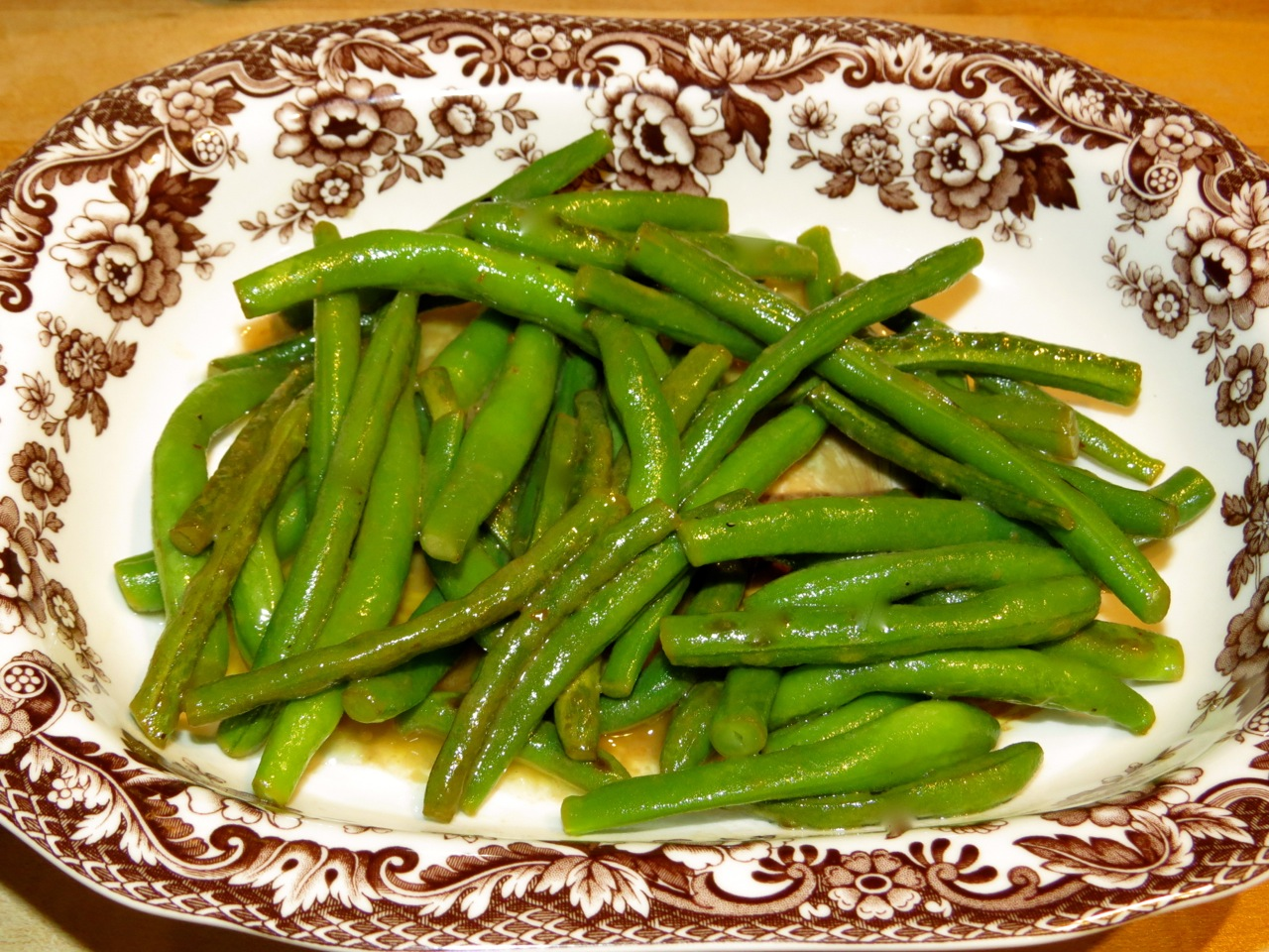 Hotel Green Lemon Julia Childs Haricots Verts A La Maitre Dhotel Buttered Green