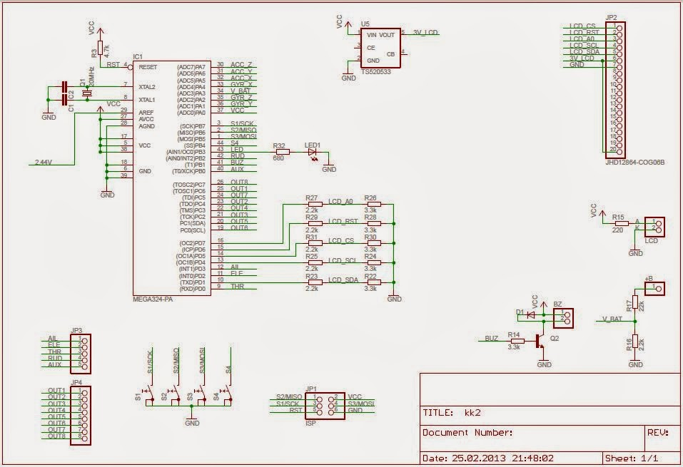 kkschematic realm of helios kk2 0 a good flight controller board for newbies kk2 board wiring diagram at nearapp.co