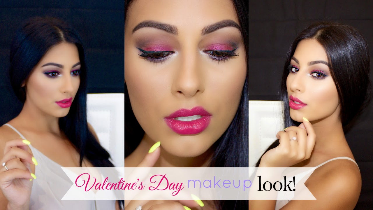 Rotem beauty valentines day all pink everything makeup tutorial valentines day all pink everything makeup tutorial baditri Gallery