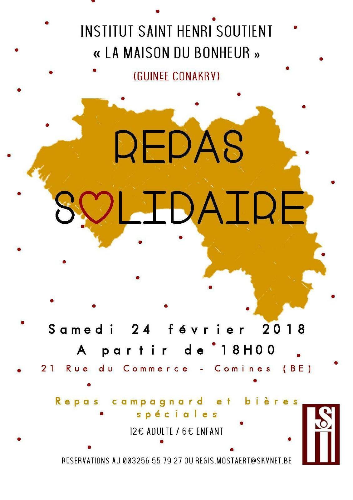 24 février repas solidaire