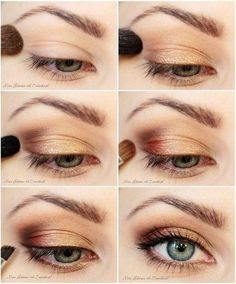 30 Tutorial Make Up Mata Natural Coklat Sehari-Hari