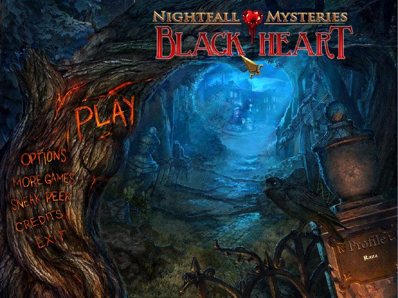Nightfall Mysteries - Black Heart - Full PreCracked - Foxy Games