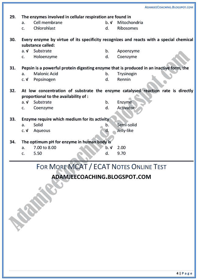enzymes-biology-mcat-preparation-notes