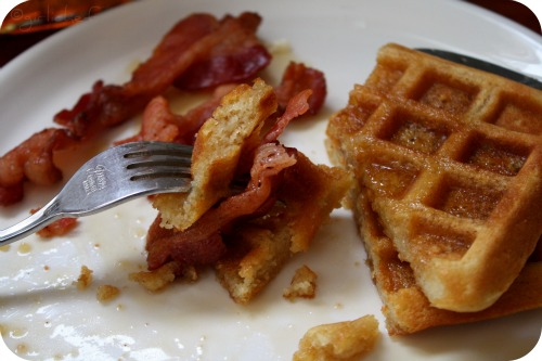 Soft Buttermilk Waffles - All Roads Lead to the Kitchen