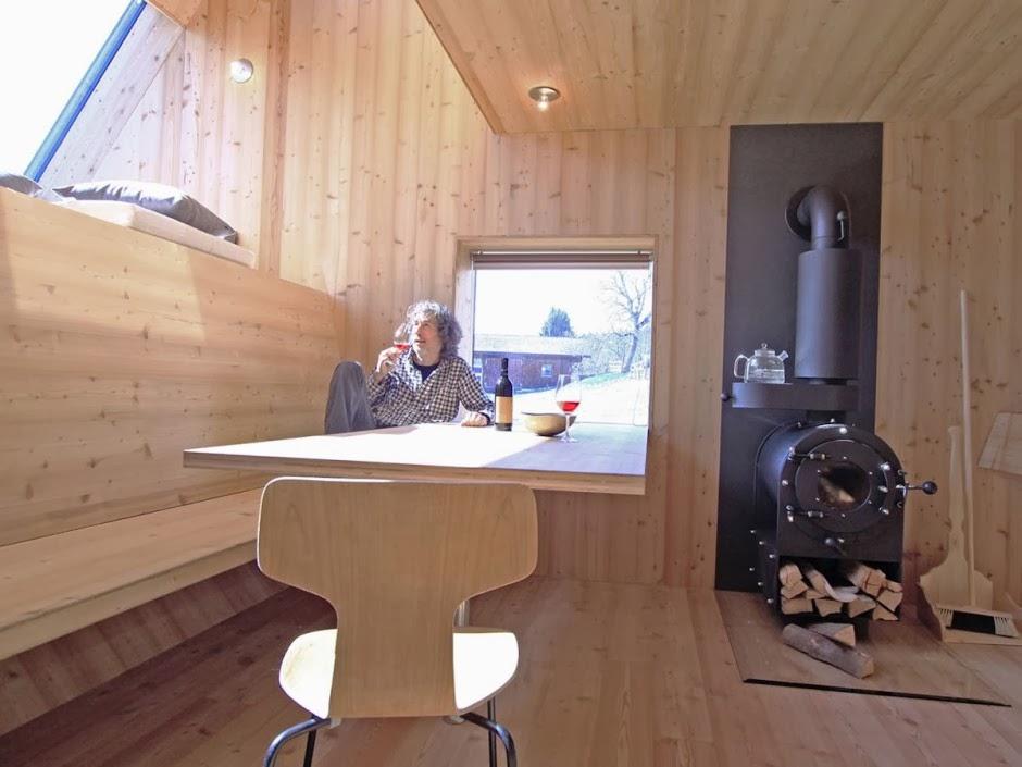 Gambar Desain Rumah Panggung Kayu Model Minimalis Sederhana 17