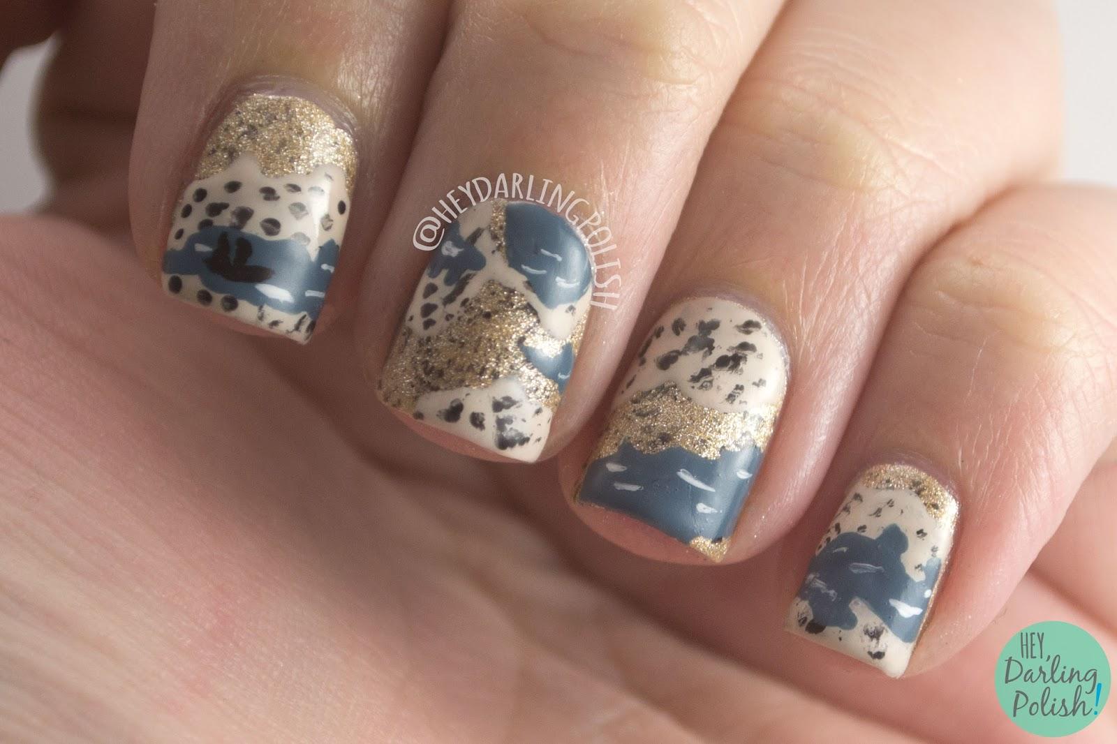 Hey, Darling Polish!: The Nail Challenge Collaborative: Books - Week 2