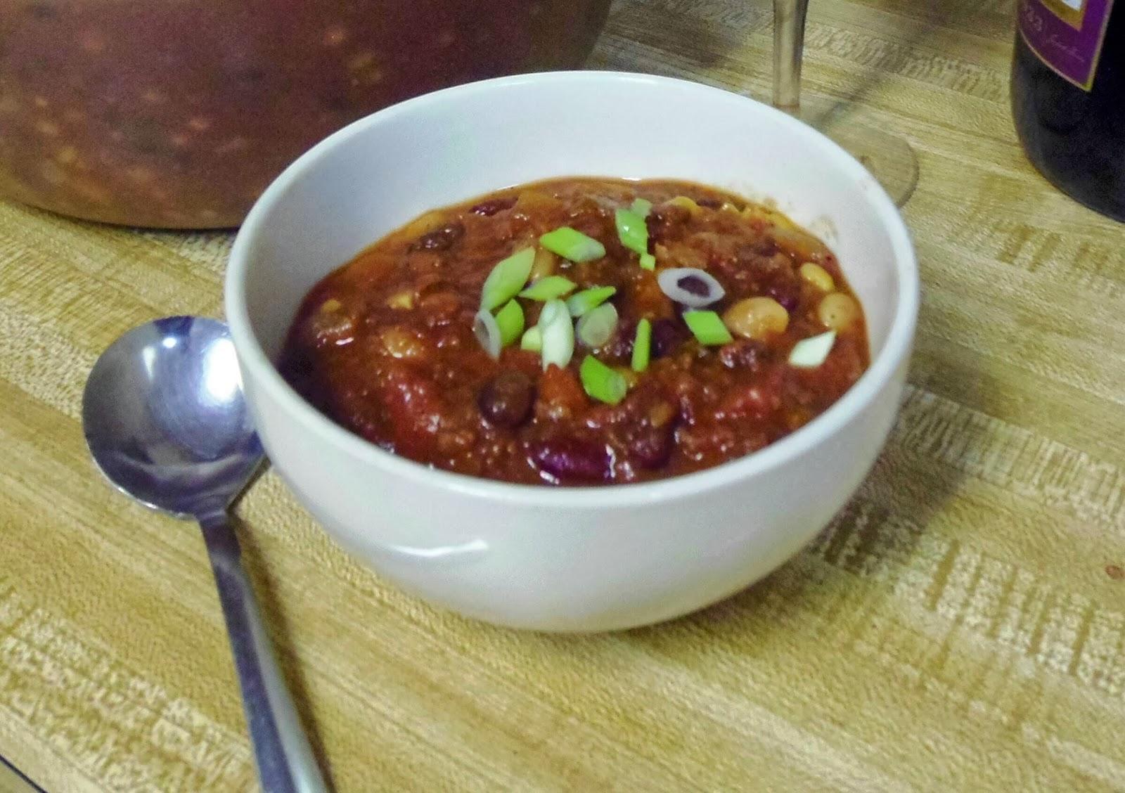 5 bean chili