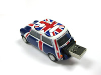 Clé USB mini cooper