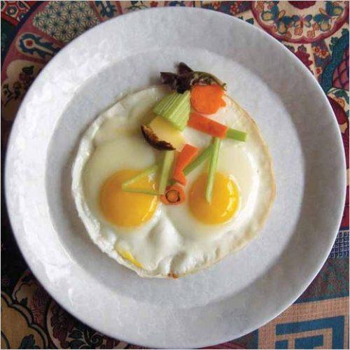Criatividade, playing with your food, ovo, bicicleta, Brincando com a comida. Até sua mãe ficaria orgulhosa com essas obras de arte!, eu adoro morar na internet