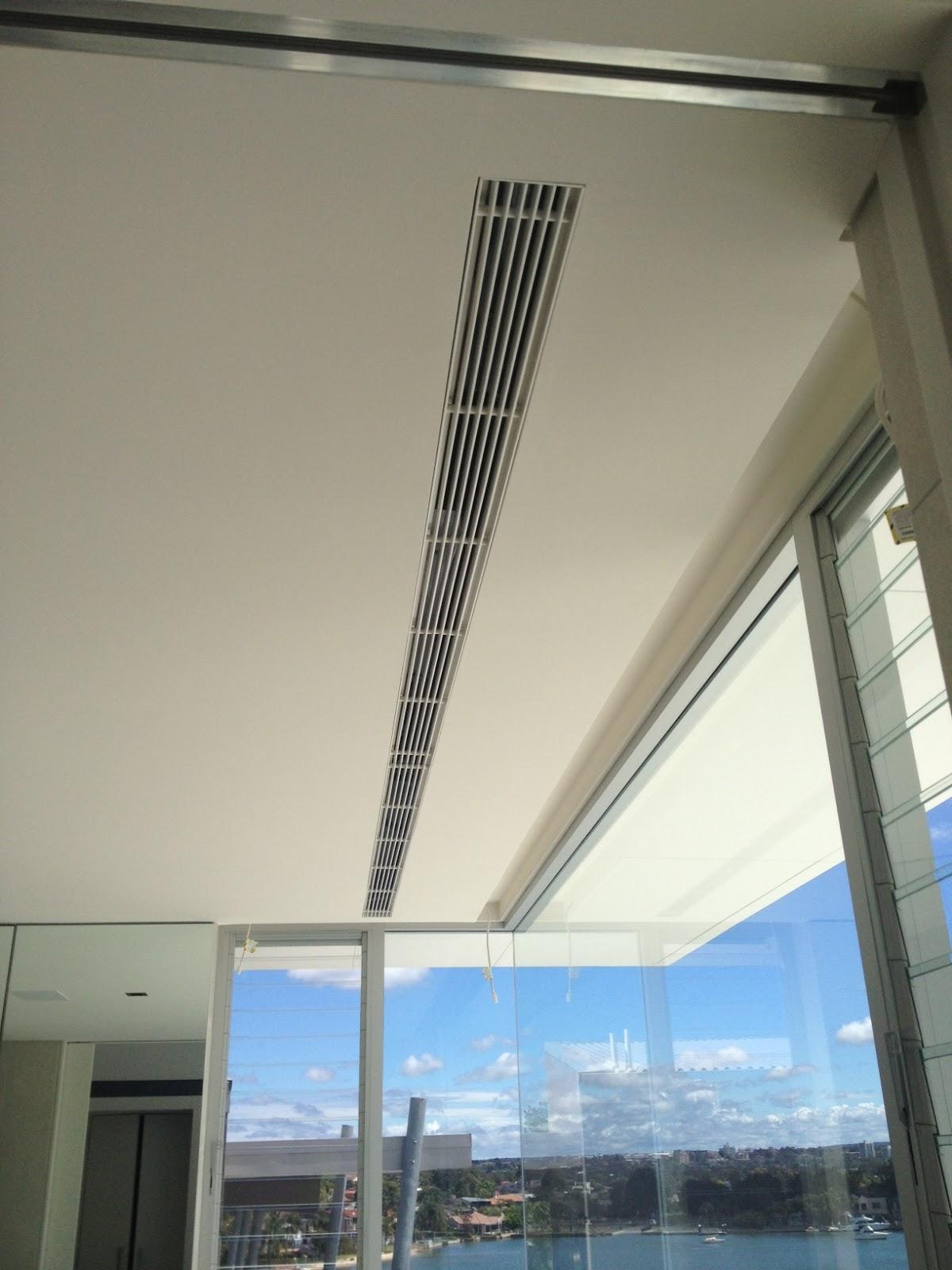 Linear Bar Air : Flangeless linear bar grilles
