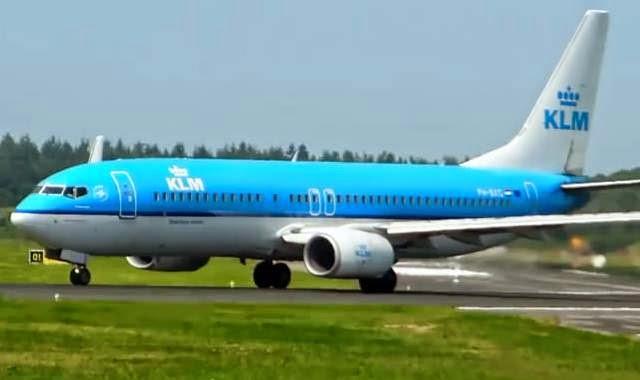 pesawat KLM air