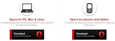 opera - Browsing Cepat Dengan Koneksi Lelet