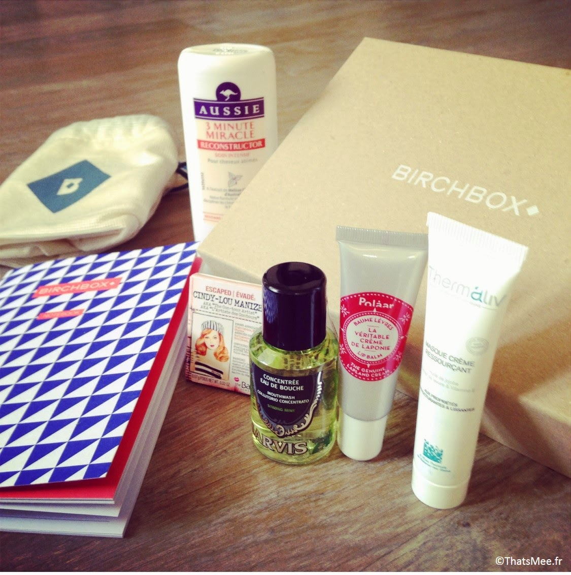 birchbox beauté aussie Polaar Thermaliv Marvis Mirenesse beauty box