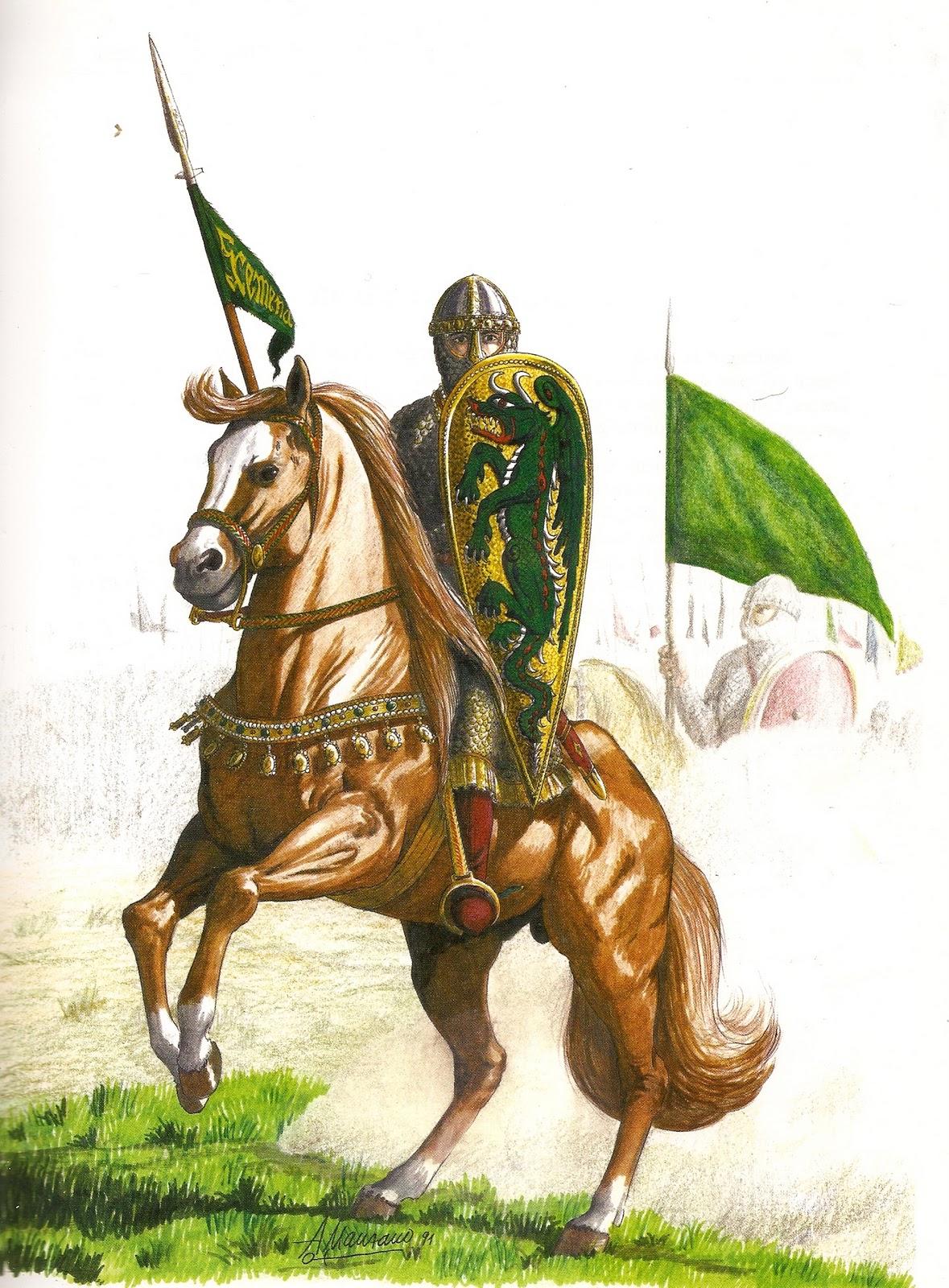 Armaduras y armas de los caballeros LA+RECONQUISTA0028