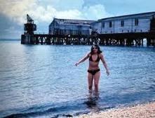 The Pier and bikini