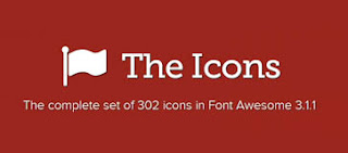 font awesome icons