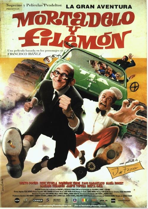 Mortadelo y Filemon movie