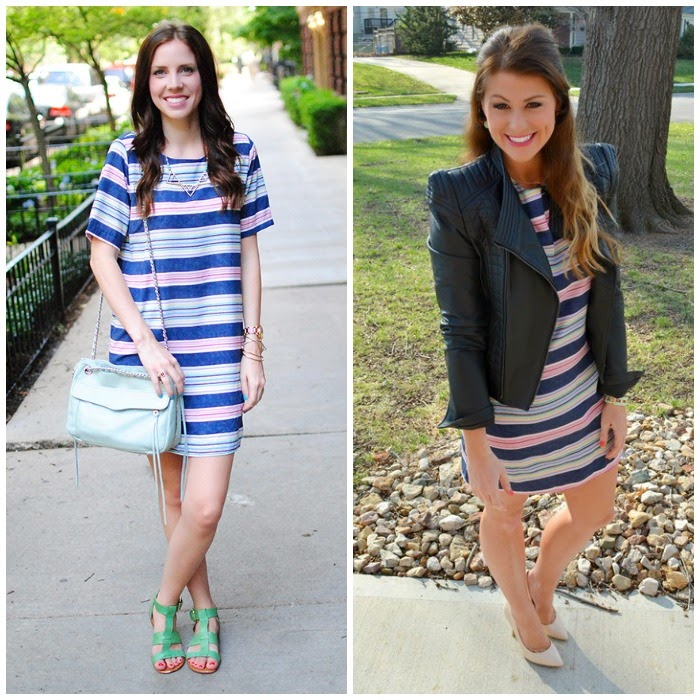 Striped Tee Tunic: 2 Ways | shopgracieb.com