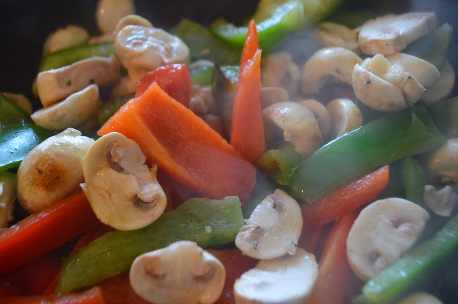 Heinz, Asda, Barbecue Chicken, Recipe, Food, healthy, #shop , mushroom, pepper, stir fry