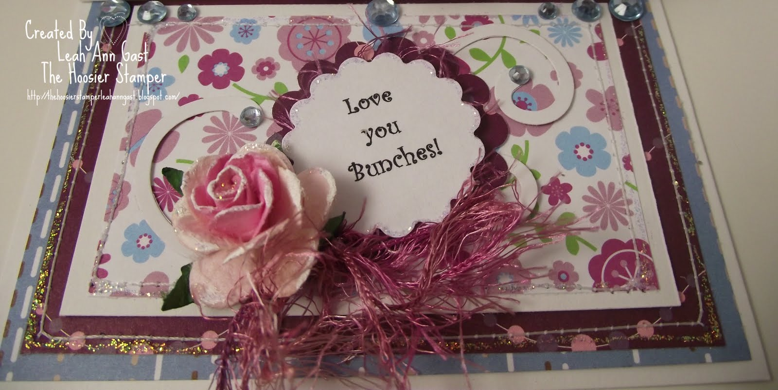 Handmade Ooak Cards By The Hoosier Stamper Teddy Bea