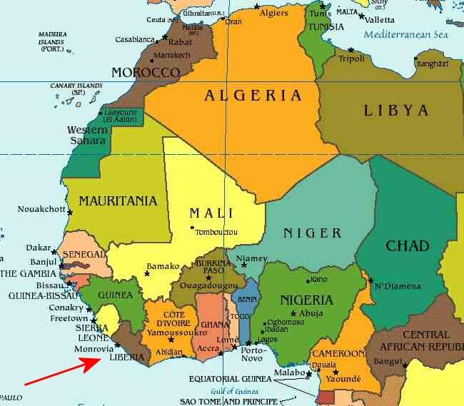 Jehudi Ashmun, Founder of Liberia (Part 2)   The New York History Blog