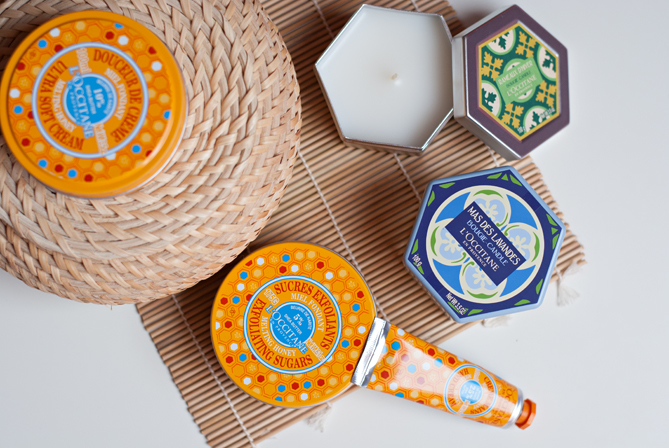 L'Occitane Melting Honey limited edition home collection