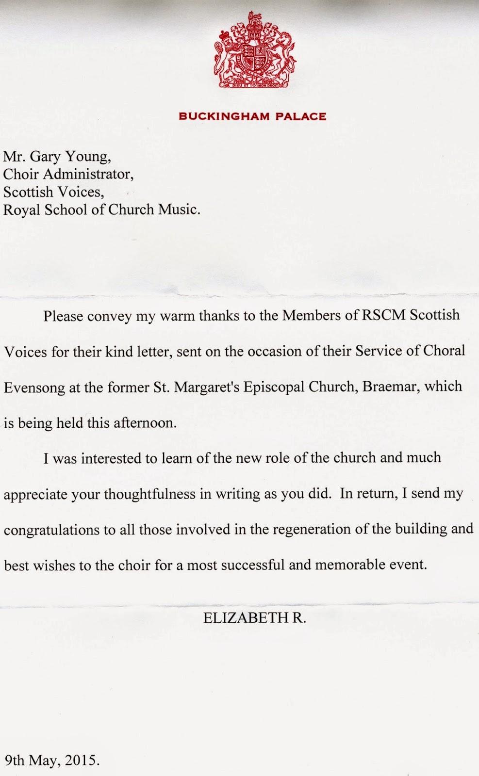 RSCM Scottish Voices Venues Repertoire