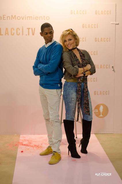 Susana y yo en Mercedes Benz FashionWeek Madrid 2015.