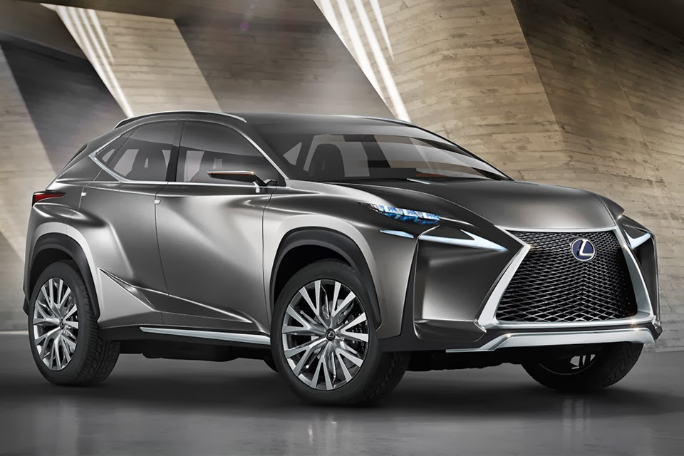 Lexus LF-NX Crossover concept for the Geneva Motor Show 2014
