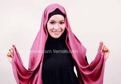 Cara Menggunakan Hijab Jilbab Pashmina Kaos Praktis Cuma 1 Menit Saja