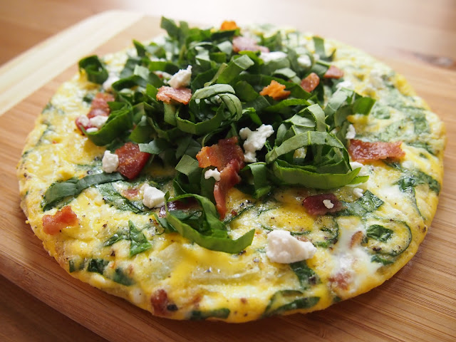 Kale And Goat Cheese Frittata Cups Recipe — Dishmaps