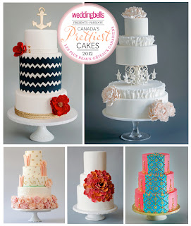 Canada's Prettiest Cakes - Wedding Bells