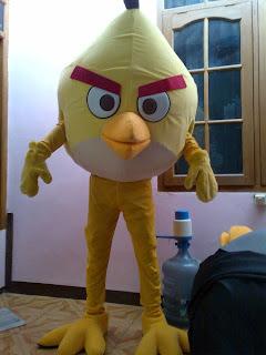 yellow bird - karakter angry bird
