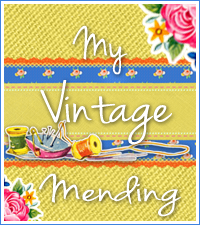 My Vintage Mending