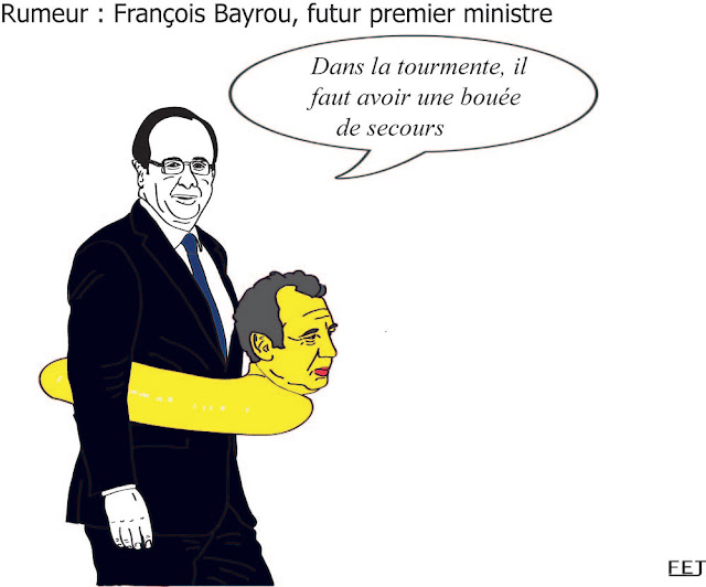 rumeur, bayrou premier ministre fej dessin