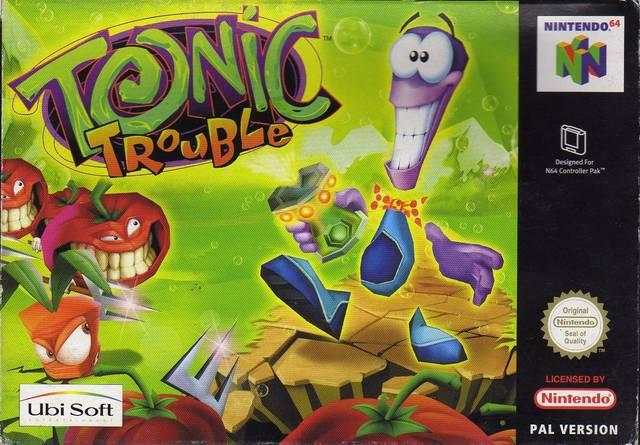 Tonic Trouble ROMs Nintendo64 Español