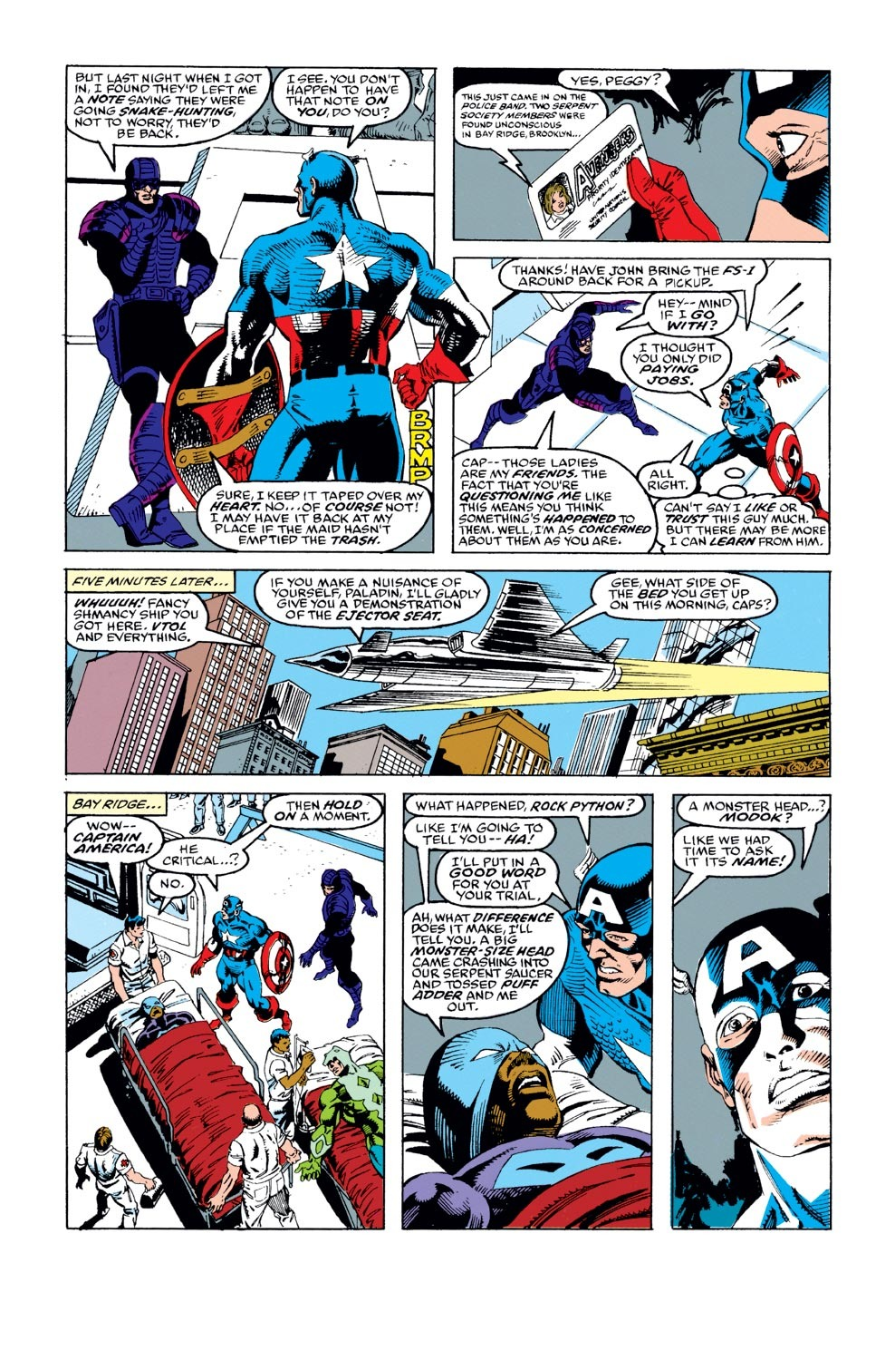 Captain America (1968) Issue #387 #320 - English 5