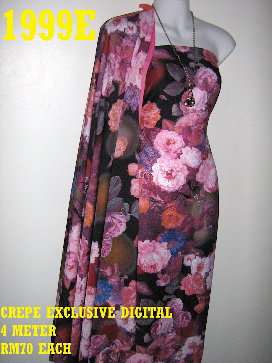 CP 1999E: CREPE EXCLUSIVE DIGITAL PRINTED, 4 METER