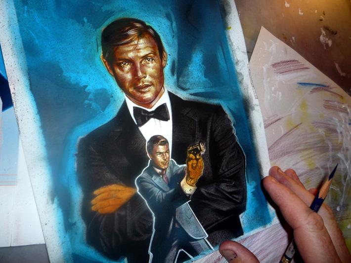 The Mis-Adventures of Adam West, Art by Jeff Lafferty