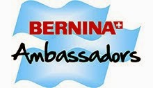 I'm a Bernina Ambassador